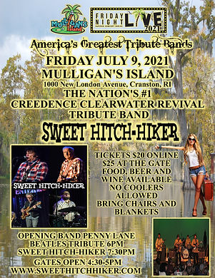 SWEET-HITCH-HIKER CCR TRIBUTE