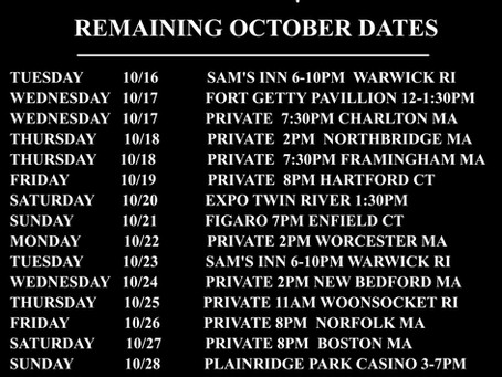 Remaining Dates This Month