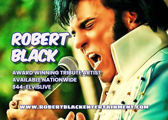 Robert Black Elvis Presley Tribute Artist & Impersonator