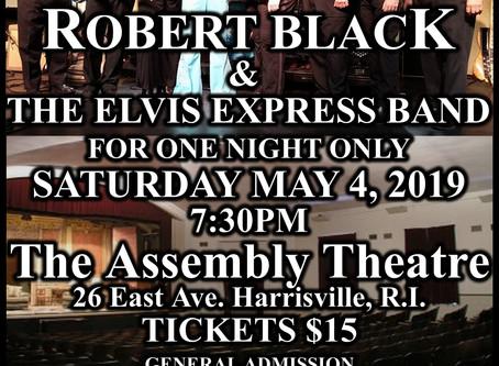 Robert Black & The Elvis Express Band