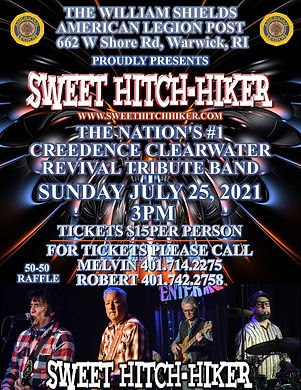 CREEDENCE SWEET HITCH-HIKER TRIBUTE
