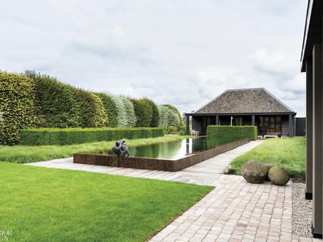 Piet Boon revela su naturaleza multitarea en su granja al noreste de Ámsterdam.