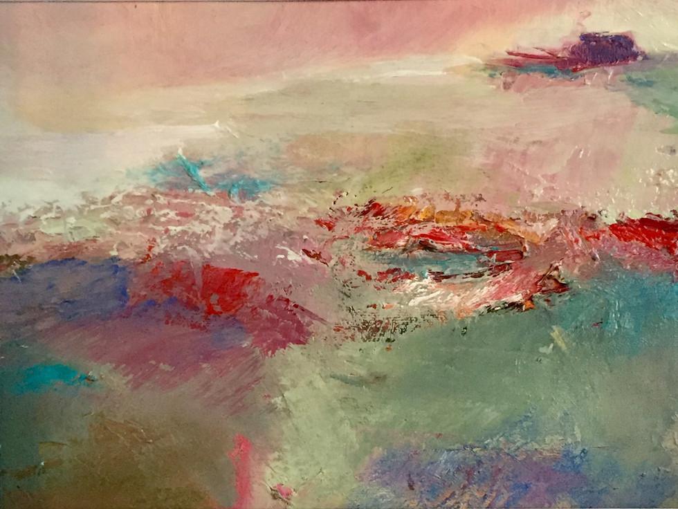 """Poppy Fields in Tuscany"" - 2018"