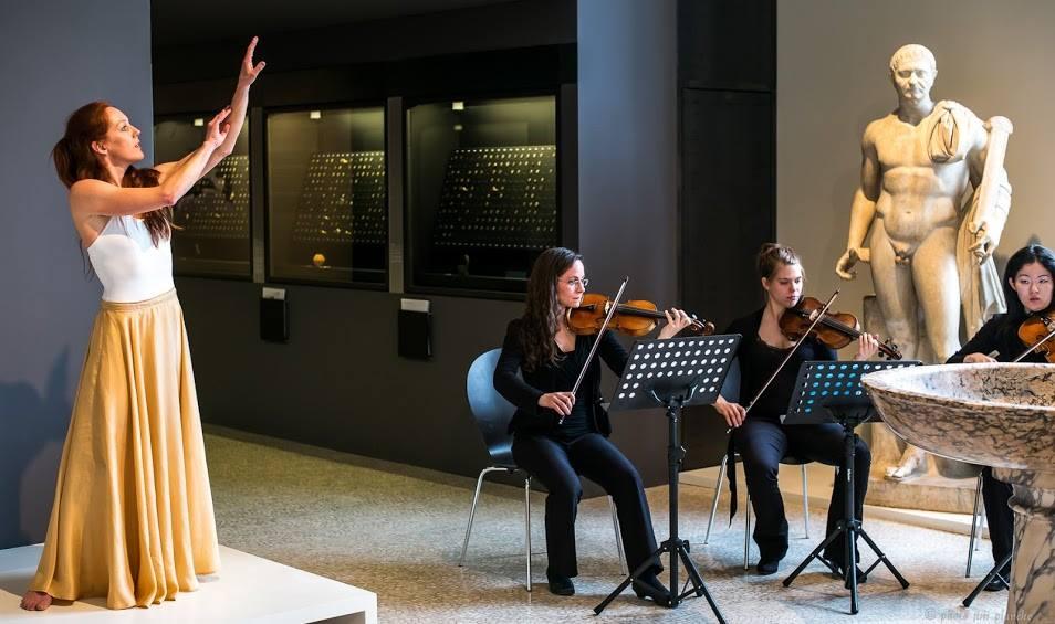 Quatuor Galatée, Musée d'histoire GE