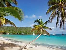saline bay, mayreau, st. vincent and the