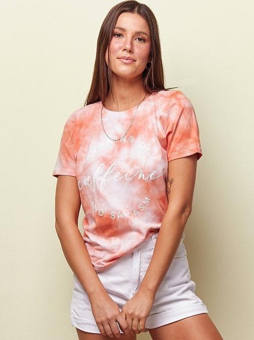 T-shirt Tie-Dye Caffeine