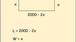 Finding Rectangular Dimensions with Greatest Area