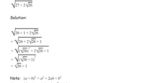 Simplifying Square Roots within a Square Root
