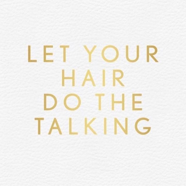 Let your HAIR do the TALKING🌟_Happy Thu