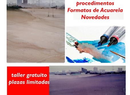 """CURSO DE ACUARELA W&N EN NUESTRO NUEVO    """"ESPAI D'ART HILGARD"""""""