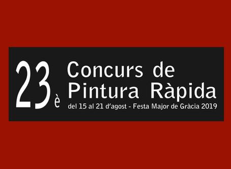 23è CONCURS DE PINTURA RÀPIDA