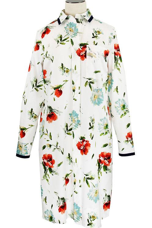 Robe chemise DONNA en coton