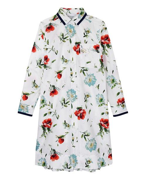 """Robe chemise """"Donna"""" en coton"""