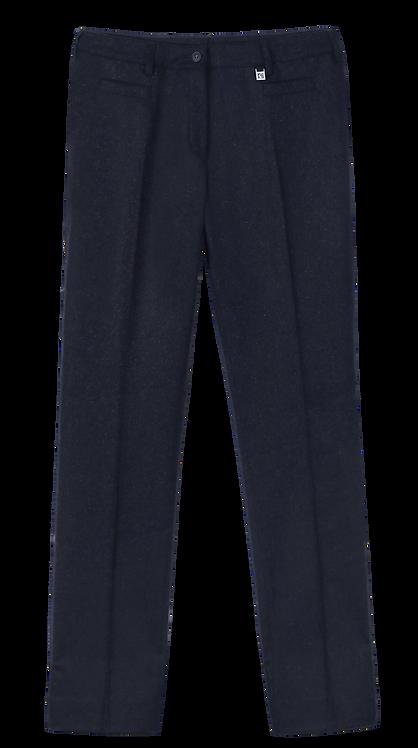 Pantalon droit en Loden femme