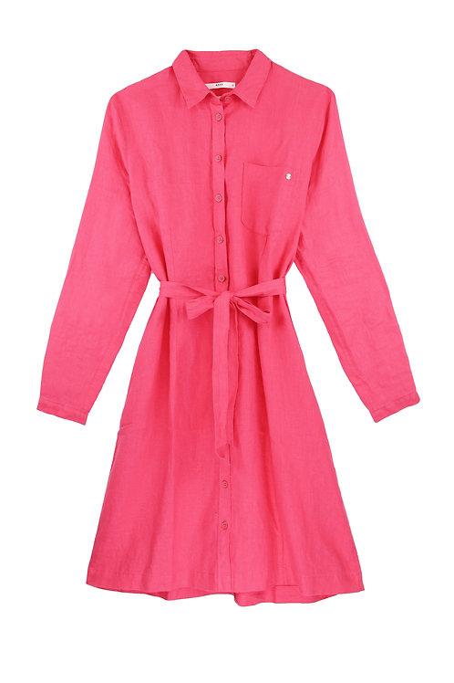 Robe chemise GILLIAN en lin