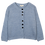Thumbnail: Cardigan à bouton - 100% Alpaga