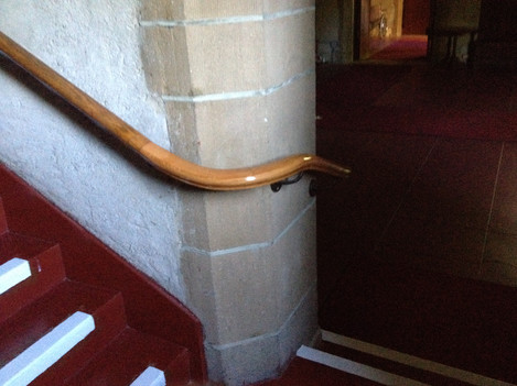 Bannister for Bronxville Church