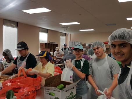Volunteer at Feeding Westchester