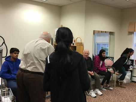 Veteran's Day Trivia with Seniors