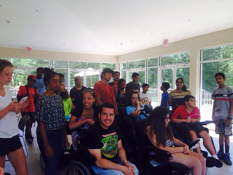 Volunteering at Cerebral Palsy of Westchester