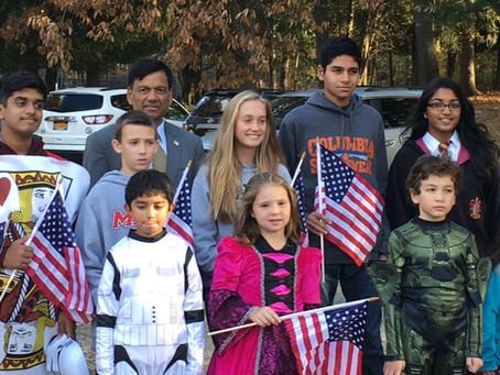 OPERATION GRATITUDE - HALLOWEEN CANDY DELIVERY TO OUR TROOPS