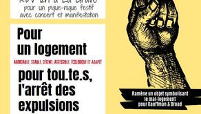 JOURNEE EUROPEENNE DE DEFENSE DU LOGEMENT