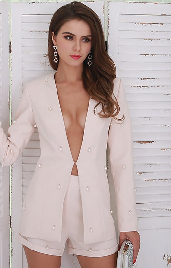 Stunning Two Piece Blazer Set
