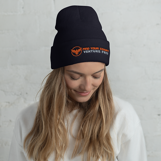 Find Your Coast Venture Pro Cuffed Beanie
