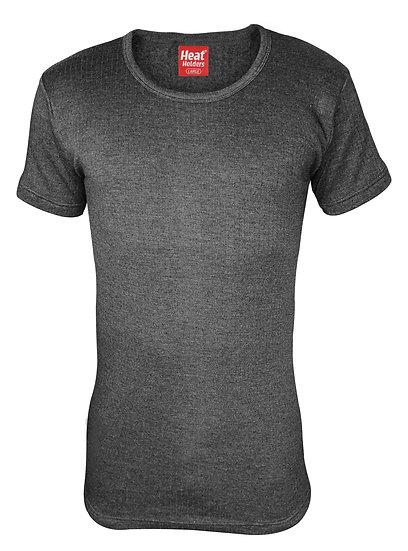 Mens Cotton Thermal Underwear Short Sleeve Vest