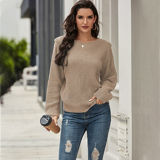 Loose Knit Oversized Sweater