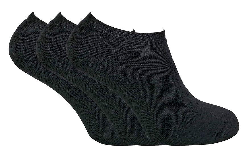 3 Pairs Mens Thermal Trainer Socks