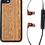 Thumbnail: Walnut Wooden Bluetooth Ear-Buds