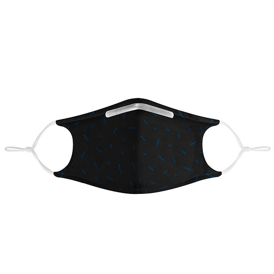 PM2.5 - 3 Layer Face Mask W/ Fitted Nose Wire, Anti Dust Filters