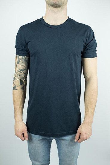 Unisex Organic Bamboo T-Shirt in Midnight Blue