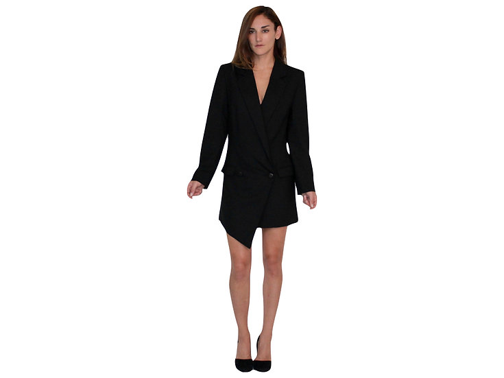 Multi-Wear Aria Asymmetric Tuxedo Blazer/Dress