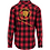 Thumbnail: The Lion Head Checked Flannel Shirt