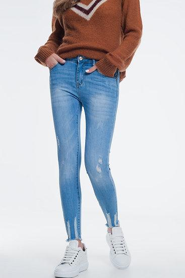 Super Skinny Jeans in Light Denim