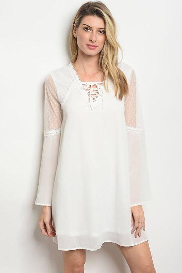 Mesh Lace Tunic Dress