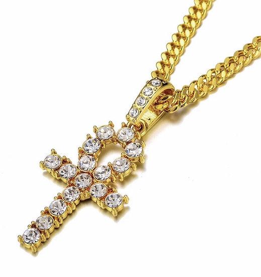 Key to the Nile Ankh Necklace