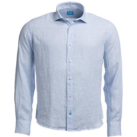 FIJI Linen Shirt Light Blue