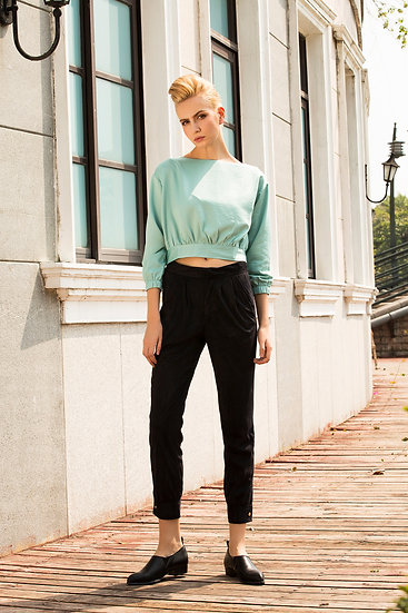 Too Cool for Work Mid-Rise Faux Suede Pants