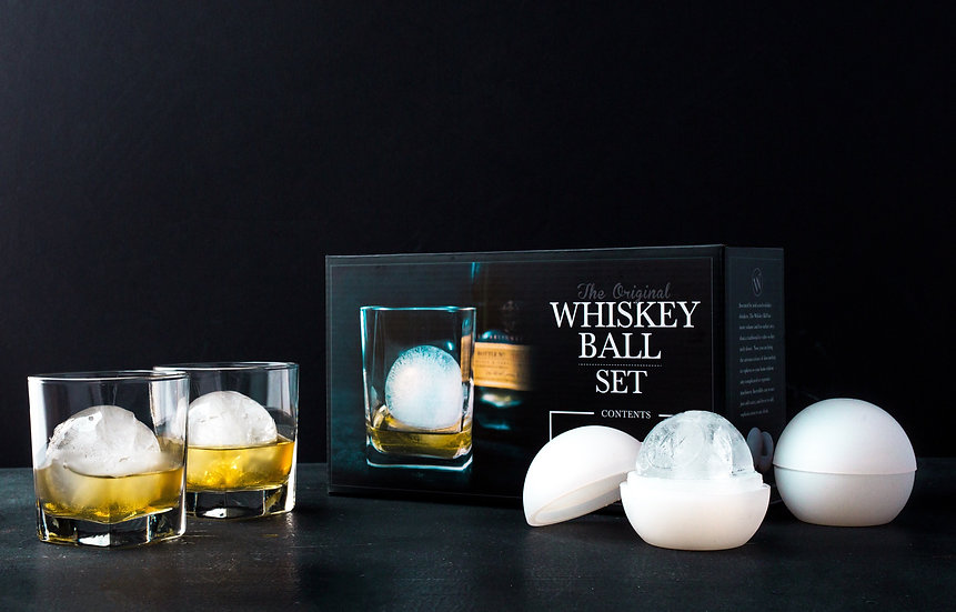The Whiskey Ball Duo Gift Set (Wholesale)