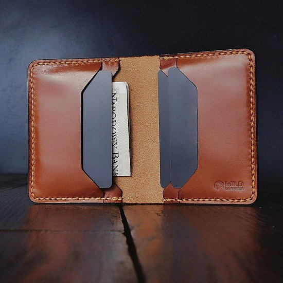 """The """"Wide"""" - Buttero Leather Wallet"""