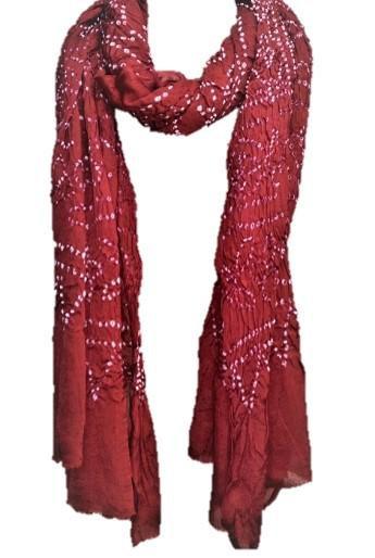 OMSutra Chakra Silk Scarves - Tie Dye
