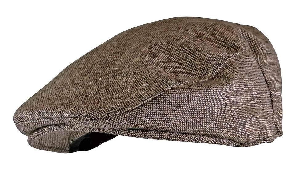 Mens Wool Blend Flat Cap