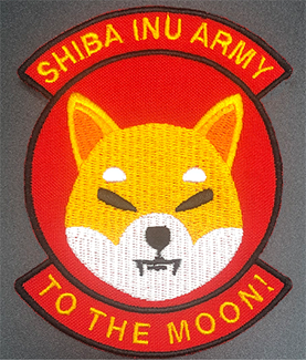 SHIBA INU ARMY - TO THE MOON!  PATCH