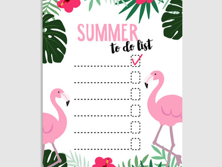 Summer College Prep Checklist for Rising Sophomores and Juniors