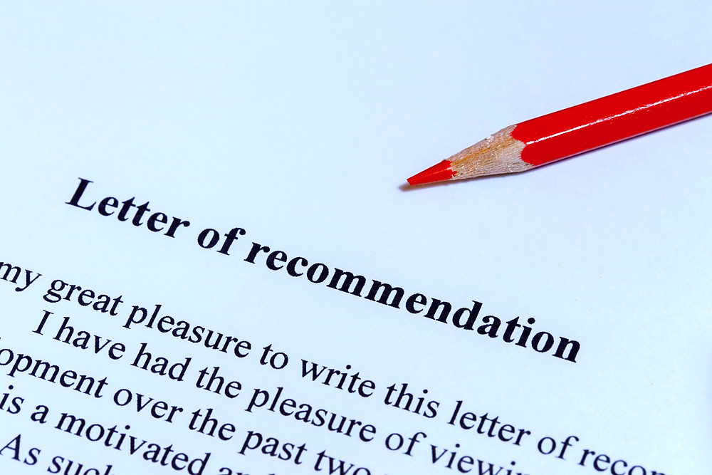 college letter of recommendation