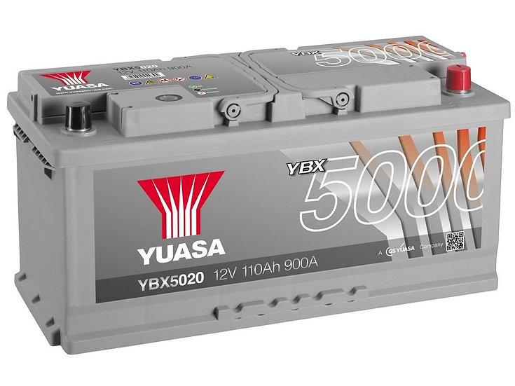 Аккумулятор YUASA 110Ah 12V 900A