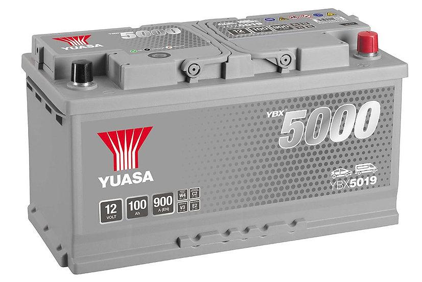 Аккумулятор YUASA 100Ah 12V 900A